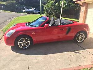 2002 Toyota MR2 Convertible Narrabeen Manly Area Preview