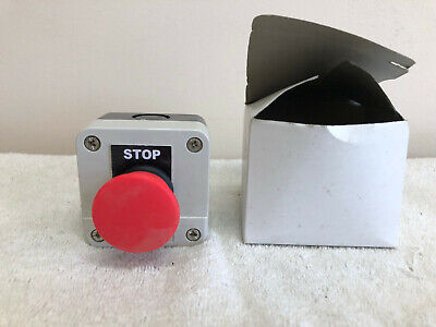 Red Emergency Stop Push Button Indictator Xal-b164h29 Usa Seller