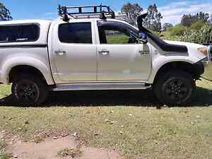 Toyota hilux ggn25 hilux v6 snorkel supplied and installed Bethania Logan Area Preview