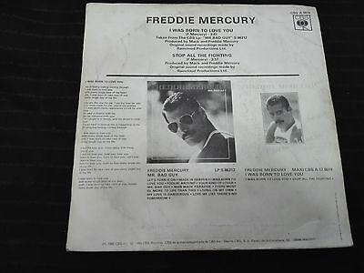 """Usado, QUEEN  FREDDIE MERCURY-I WAS BORN TO LOVE YOU- SPANISH PROMOTIONAL 7"""" segunda mano  Embacar hacia Argentina"""