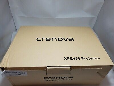CRENOVA XPE496 Portable Mini Video Projector Full HD 1080P (170'' Display) 2335
