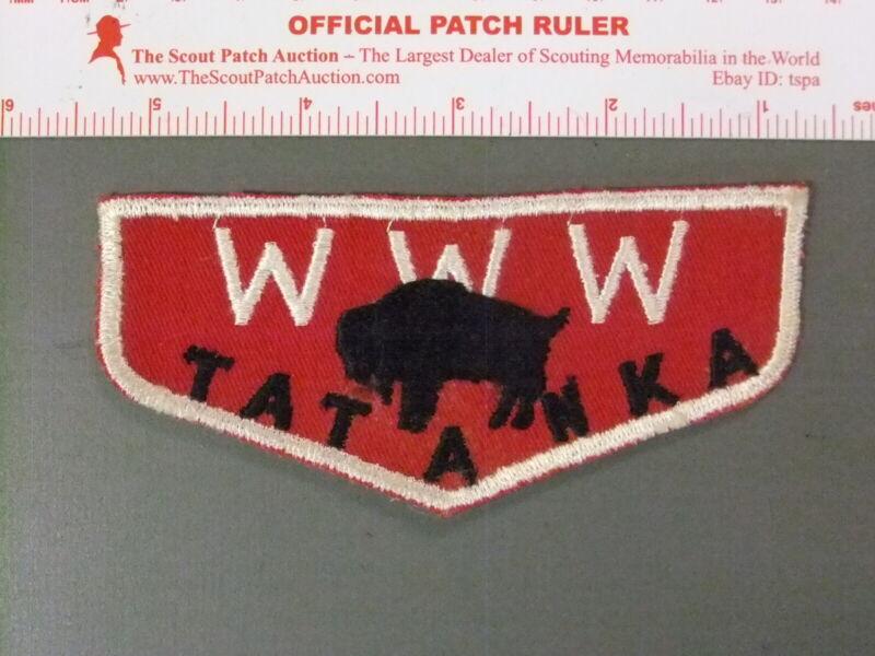 Boy Scout OA 141 Tatanka flap 7607JJ