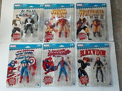 Marvel Legends Super Heroes Vintage Retro 6 Inch Figures Wave 1 SEALED NEW