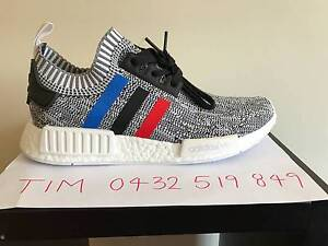 Adidas NMD R1 PK Tri Colour White Oreo US8.5 $350 Hoppers Crossing Wyndham Area Preview