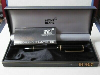 Montblanc Meisterstuck No. 149 Fountain Pen, 18K Gold B Nib
