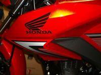 Honda CB125F GLR125 FRONT MUDGUARD IN BLACK 2015 MODELS ONWARDS