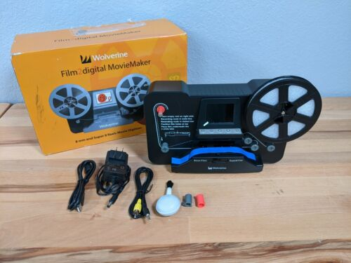 Wolverine Film 2 Digital 8mm film to digital Movie Maker
