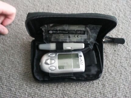 Wave sense blood glucose monitor Narre Warren Casey Area Preview