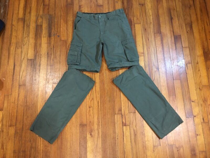 Boy Scouts America BSA Uniform Pants Mens Classic 36 x 34 Convertible Switchback