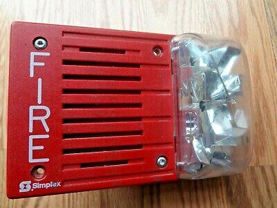 Simplex 4903-9146 Fire Alarm Speaker Strobe Free Shipping