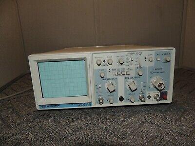 Bk Precision 20mhz Oscilloscope Model 2120