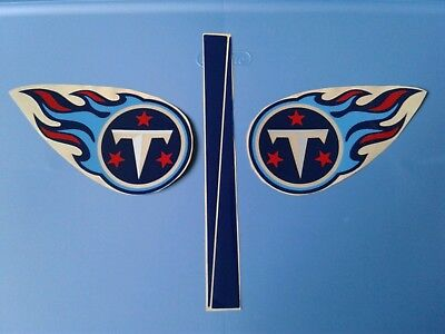 Tennessee Titans football helmet decals - Titans Tennessee