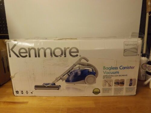 Kenmore Bagless Compact Canister Vacuum with Turbine Brush-1