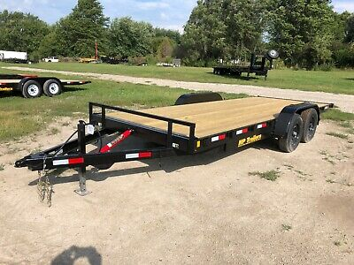 2021 20 Mt Speedhauler Trailer With 10k Suspension And Removable Fenders