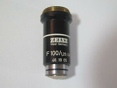 Zeiss West German 100x Oil Immersion Objective