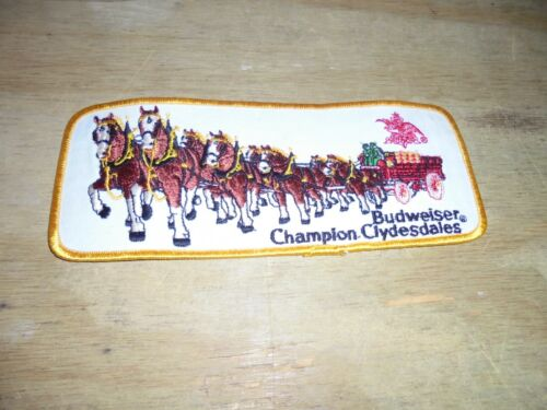 Budweiser Champion Clydesdale Advertising Patch