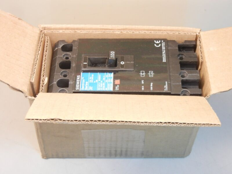 SIEMENS EFC3M100 NEW 100A IEC SENTRON MOLDED CASE CIRCUIT BREAKER EFC3M100