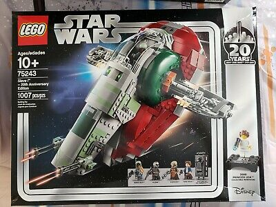 LEGO Star Wars Slave I - 20th Anniversary Damaged Box (75243) New Boba Fett,Solo