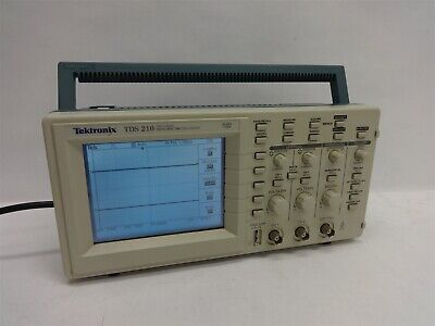 Tektronix Tds 210 Two-channel Digital Real-time Oscilloscope Working