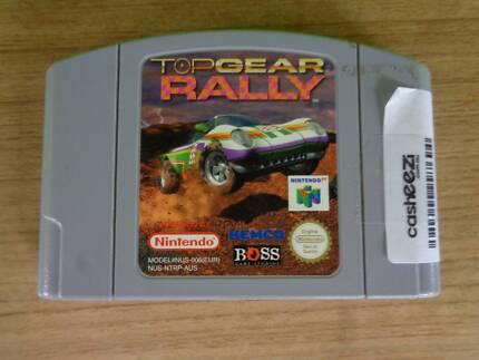 Nintendo 64 Game Cartridge - Top Gear Rally