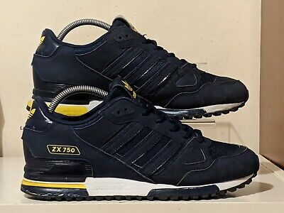 "Adidas ZX 750""15 release used trainers size 8 stripes rare originals"