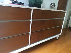 Mid century dresser sideboard cabinet tv media sta