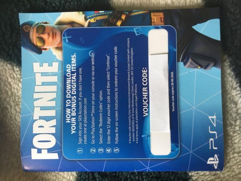 Fortnite Royal Bomber Pack Ps4 Voucher Code Video Games Gumtree