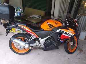 2013 Honda CBR250 With Extras LAMS approved Wanguri Darwin City Preview