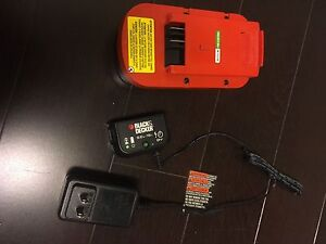 Black & Decker 18v Extra Battery and Charger
