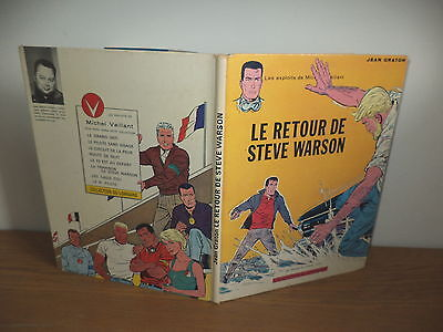 E.O.Michel Vaillant Le retour de steve Warson Lombard 1965 J. Graton