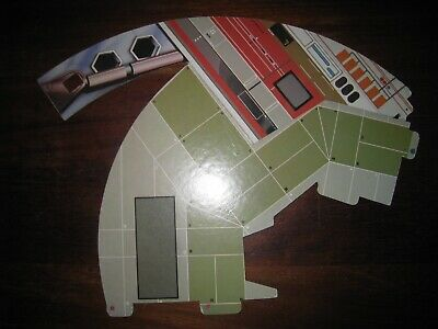 Vintage Star Wars Palitoy Death Star Part G - original