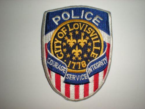 LOUISVILLE, KENTUCKY  POLICE DEPARTMENT PATCH.