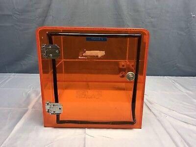 Uv Shielded Desiccator Drybox 12 X 12 X 12 W Regulator Contamination Control