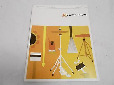 VINTAGE MUSICAL INSTRUMENT CATALOG #10042 - (1970) ROGERS DRUM ACCESSORIES