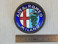 Emblema Alfa Romeo Milano Placca Smalto Badge Old Emblems Epoca Italy - alfa romeo - ebay.it