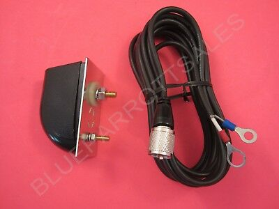 WORKMAN PSM-2 CB RADIO ANTENNA MOLDED SIDE MOUNT WITH 12` COAX