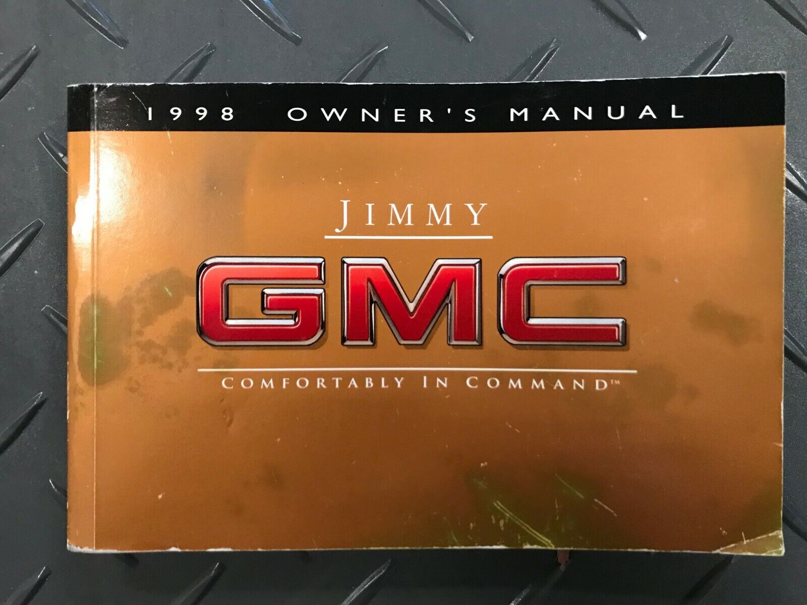 1998 Jimmy GMC Owner's Manual Genuine OEM X9811 FREE SHIPPING!