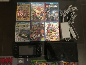 Selling Wii U with 6 games