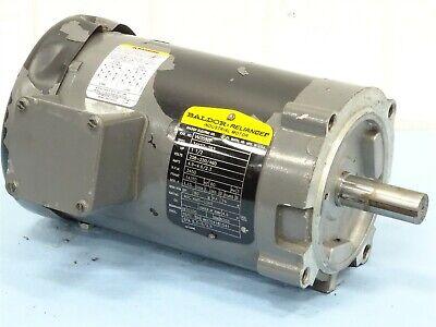 Baldor Industrial Motor GE # 5173426 .25HP 60VDC 4A 4000 RPM 30:1 Ratio