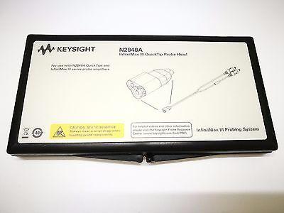 Keysight N2848a Infiniimax Iii Quicktip Probe Head New Agilent N2848a B126