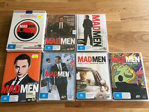 Mad Men- the completed series & soundtrack DVD & CD Melbourne CBD Melbourne City Preview