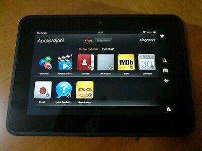 "Tablet Amazon Kindle Fire 7"" wi-fi 16 GB black"