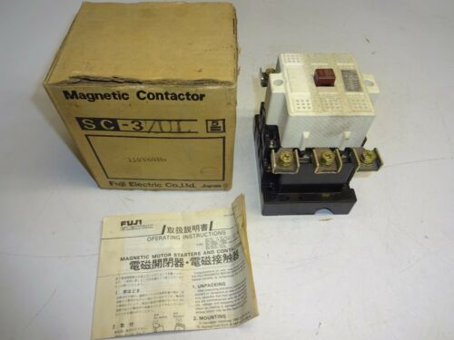 FUJI ELECTRIC SC-3/UL MAGNETIC CONTACTOR