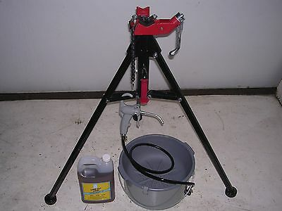 Bucket Oiler Oil Portable Tri-stand Reed Rothenberger Collins Pipe Threader