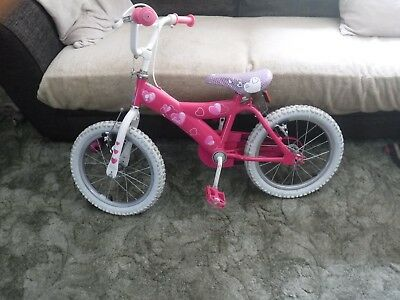 Barbie kids bike 5 to 8 yrs old Pick Up Only From Swansea Wales