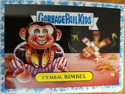 2019 GPK Garbage Pail Kids Revenge oh Horror-ible 10b Cymbal Kimbel BLUE -
