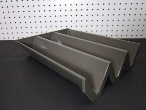 HERMAN MILLER Diagonal Paper Tray / Desktop LETTER Size Holder Organizer *READ*