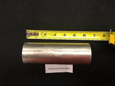2.125 Round 316 Stainless Rodbar 6.00 Long  Lathe Or Milling Stock