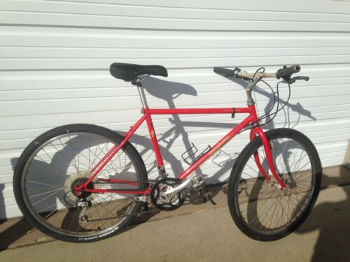 """specialized stump-jumper mtb classic 18"""" red hardtail"""