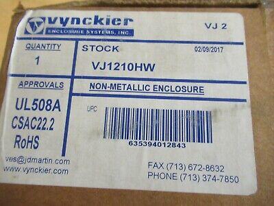 Vynckier Vj1210hw Non-metallic Enclosure
